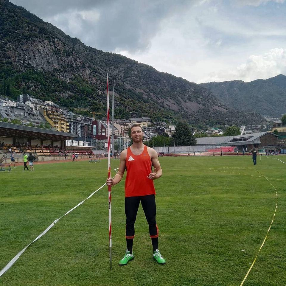 Bradley Mifsud breaks Javelin National Record in Andorra