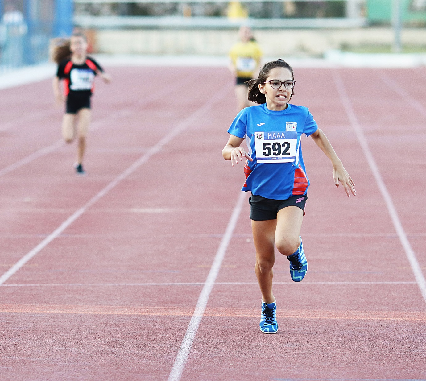 Thea Grech steals the scene with treble in junior MAAA events