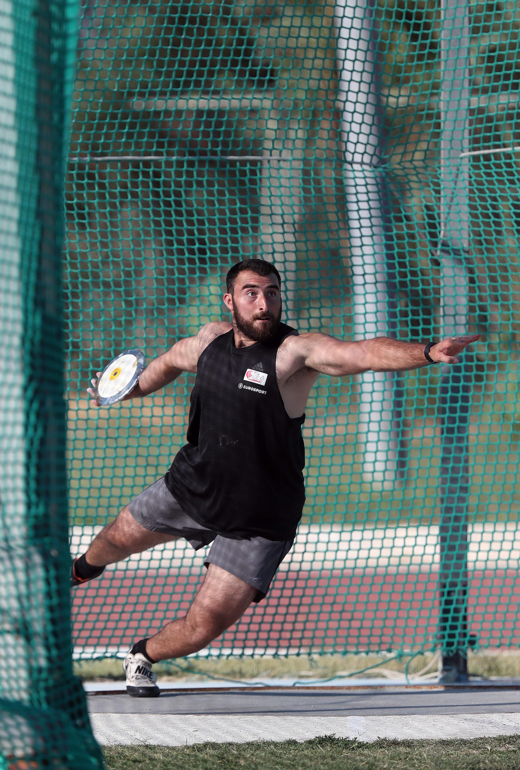 Luke Farrugia breaks own national record with 51.92m discus throw